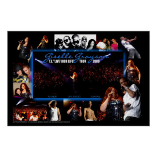 T.I. Live Your Life Tour 2009 Poster