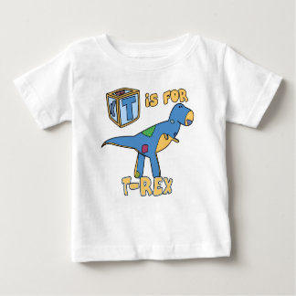 T is for T-Rex Baby T-Shirt