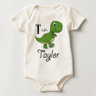 T is for Taylor T-rex Tee