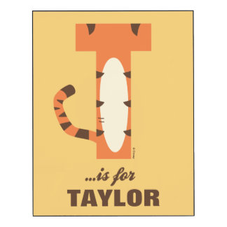 T is for Tigger | Add Your Name