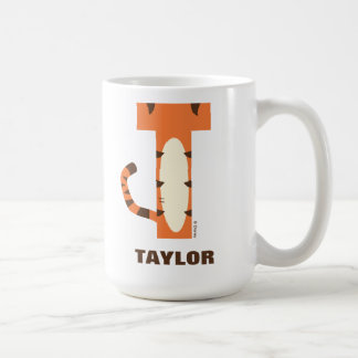 T is for Tigger | Add Your Name Coffee Mug