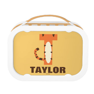 T is for Tigger | Add Your Name Lunch Box