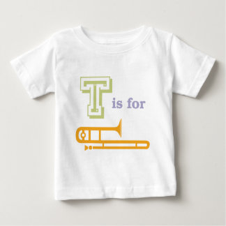 T is for Trombone Baby T-Shirt