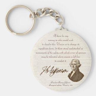 T. Jefferson: Opinion & Reason - Keychain