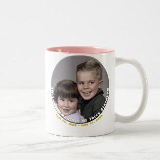 T & jer Two-Tone coffee mug