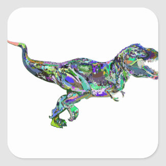 t rex2 square sticker