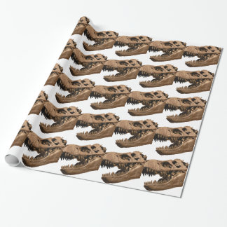 t rex3 wrapping paper
