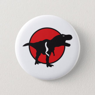 T-rex 2 Inch Round Button