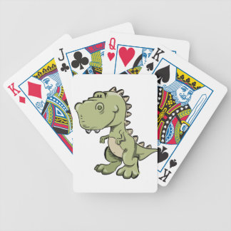 T-Rex Bicycle Playing Cards