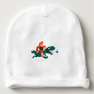T rex bigfoot-cartoon t rex-cartoon bigfoot baby beanie