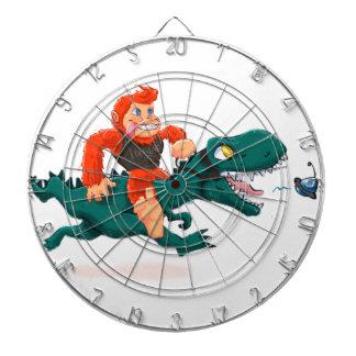 T rex bigfoot-cartoon t rex-cartoon bigfoot dartboard