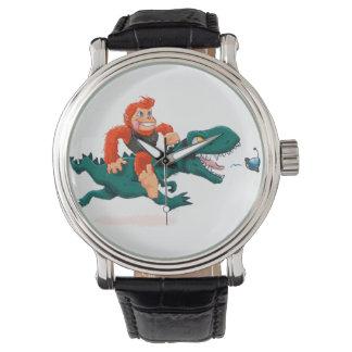 T rex bigfoot-cartoon t rex-cartoon bigfoot watch