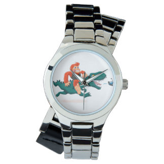 T rex bigfoot-cartoon t rex-cartoon bigfoot watch