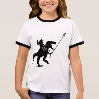T-rex & bigfoot selfie ringer T-Shirt