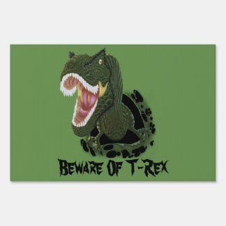 T-Rex Burst 2 Sign
