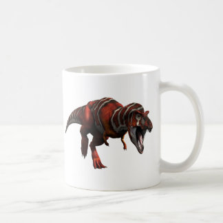 T-rex Charge Classic White Coffee Mug