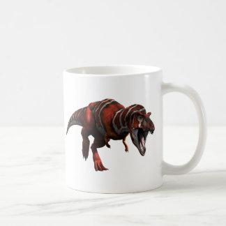 T-rex Charge Basic White Mug