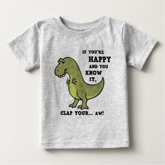 T-Rex Clap II Baby T-Shirt