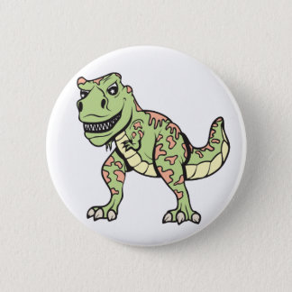 T-rex!  Customizable! 2 Inch Round Button