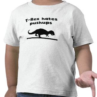 T-Rex déteste des pousées T-shirt