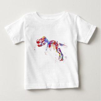 T Rex, Dinosaur, animal art, Dinosaur Baby T-Shirt