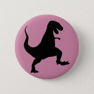 T-Rex Dinosaur Button