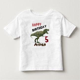 T-Rex Dinosaur Kids Birthday T-Shirt
