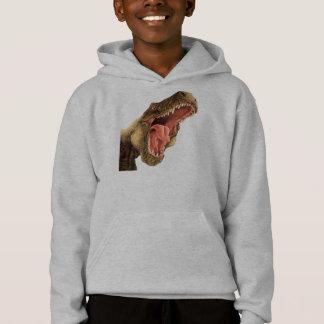 T-Rex Dinosaur Kid's Hoodie, Hooded Sweatshirt