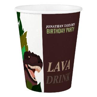 T Rex Dinosaur Party Children's Birthday Paper Cup