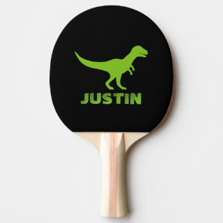 T rex dinosaur ping pong paddles for table tennis