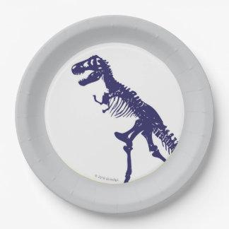 T Rex Dinosaur Plate 9 Inch Paper Plate