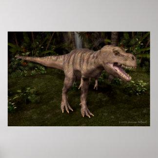 T-Rex Dinosaur Poster