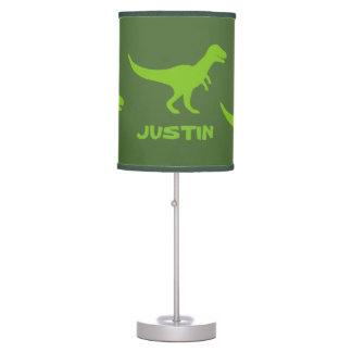 T rex dinosaur table lamp decor for boys bedroom