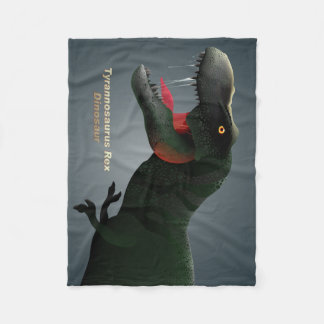 T-Rex Fleece Blanket
