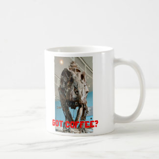 T-Rex, Got Coffee? - mug