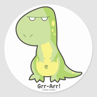 T-Rex Grr Arr Sticker