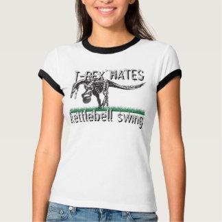 T-REX hates kettlebell swing T-Shirt