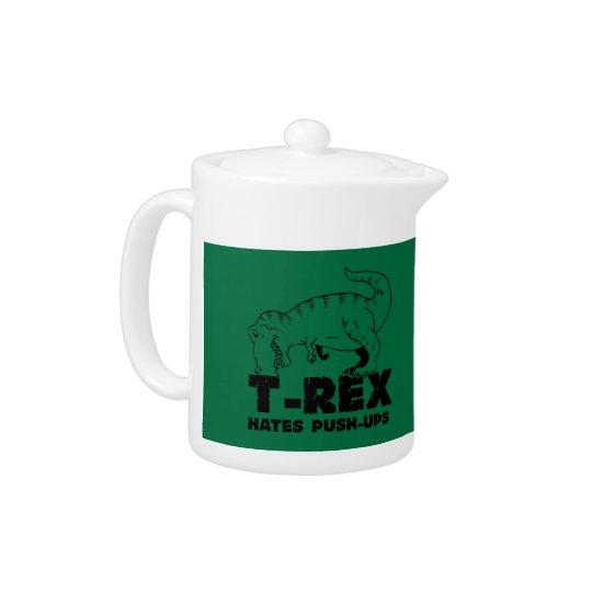 t rex hates push-ups