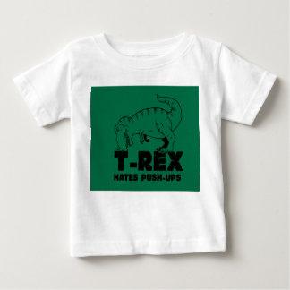 t rex hates push-ups baby T-Shirt