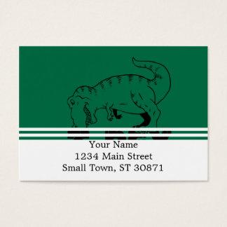t rex hates push-ups business card
