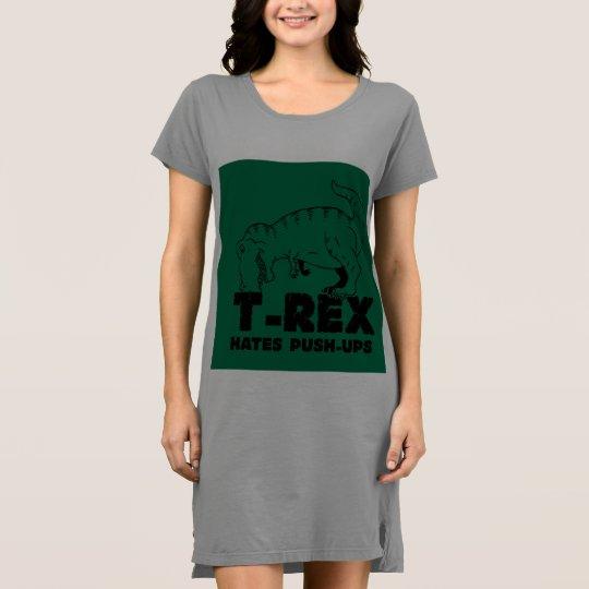 t rex hates push-ups dress