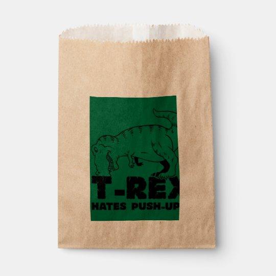 t rex hates push-ups favour bag