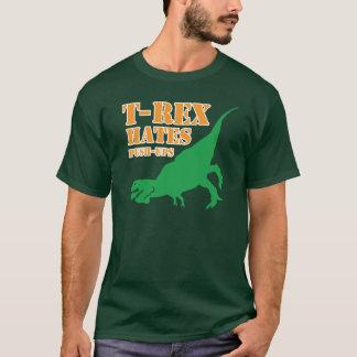 T-Rex Hates Push Ups T Shirt