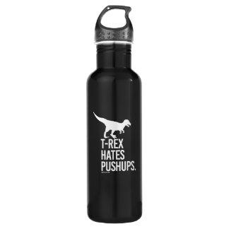 T-Rex Hates Pushups -   - Gym Humor -.png 710 Ml Water Bottle