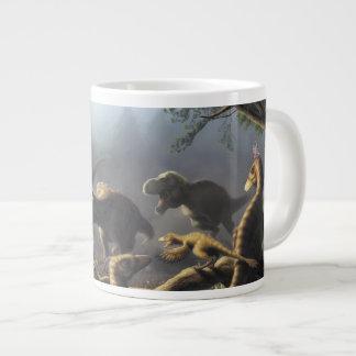 T.rex hunting mug
