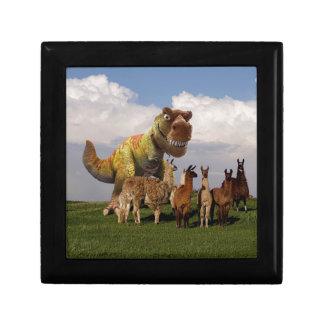 T Rex Llamas Gift Box