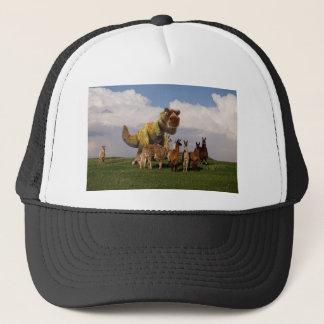 T Rex Llamas Trucker Hat
