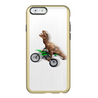 T rex motorcycle - t rex ride - Flying t rex Incipio Feather® Shine iPhone 6 Case