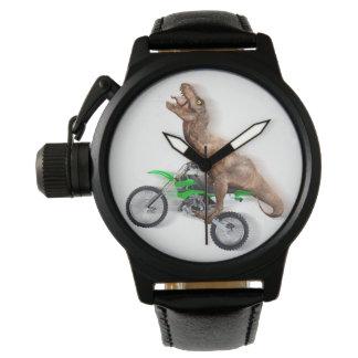 T rex motorcycle - t rex ride - Flying t rex Watch