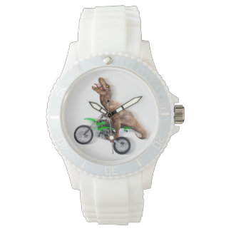 T rex motorcycle - t rex ride - Flying t rex Watch